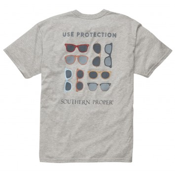 Use Protection Tee: Grey